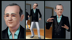 Sims 3 CAS Old Man