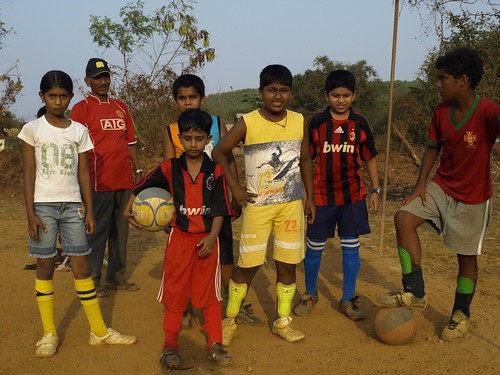 Kids football Saligao by you.