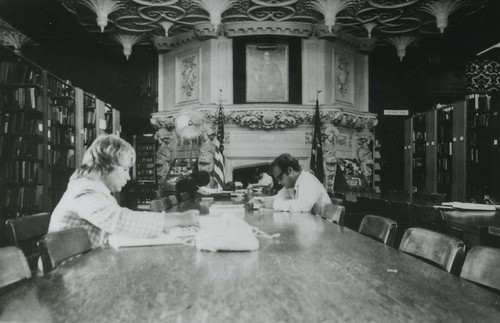 Dowling College Library ca. 1970