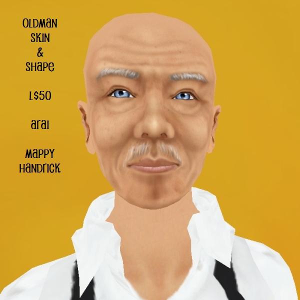 Arai Oldman Skin & Shape
