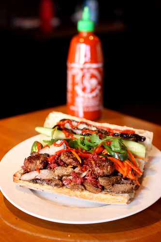 """The Making of the """"Oink Mi"""" Ultimate Vietnamese Sandwich by you."""