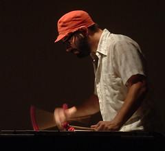 Jason Adasiewicz on vibraphone.