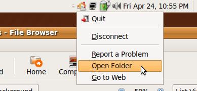Ubuntu_One_applet_click