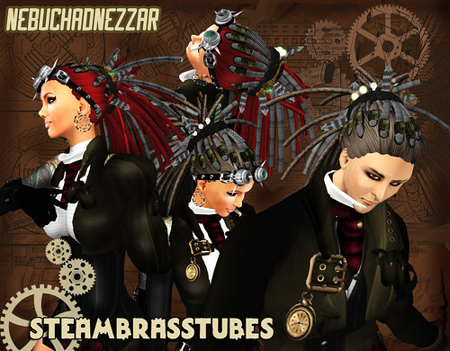 NDN - Steam Brasstubes @ Hair Fair Exposition