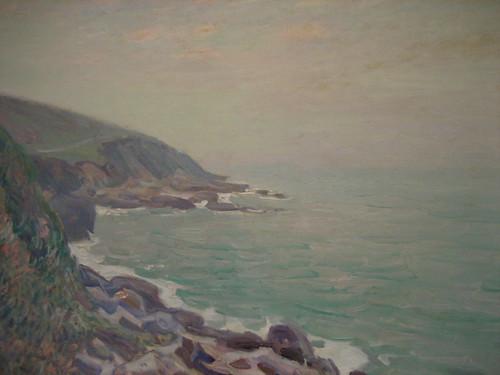 Sisley...Côtes Du Pays De Galles Dans La Brume (Coast of Wales in the Fog)