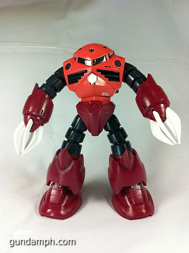 MG Z'Gok Char Custom Review 1/100