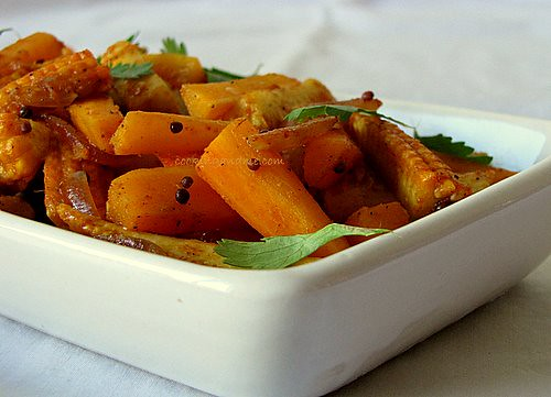 Carrot and Baby Corn Stir-Fry Recipe   Indian Baby Corn Recipes