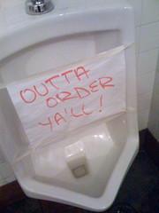 A Texan Urinal