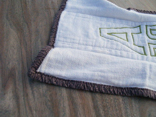 Appliqued Burp Rag Tutorial
