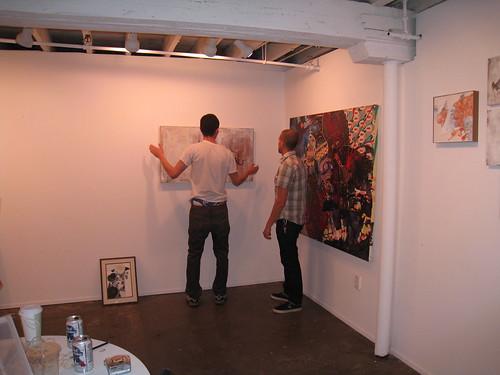brian and joe hanging work