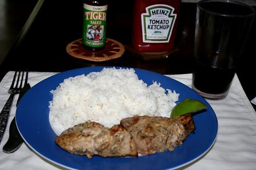 tuna dinner