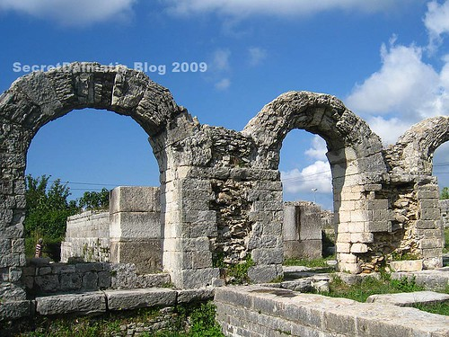 Ruins of the amphitheater