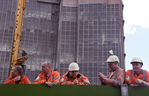 Builders. Not working.