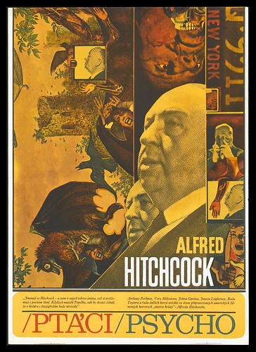 Czech Hitchcock - The Birds + Pyscho by Dave & Bry.