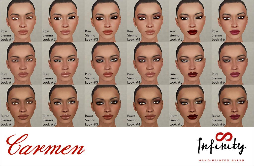 Carmen makeups