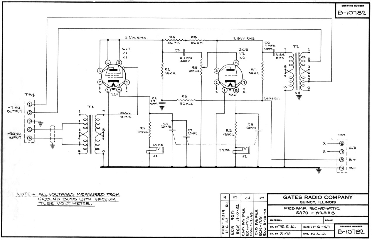 Help With Gates Tube Mic Preamp