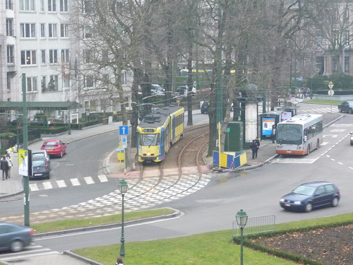 Trams and buses in Brussels