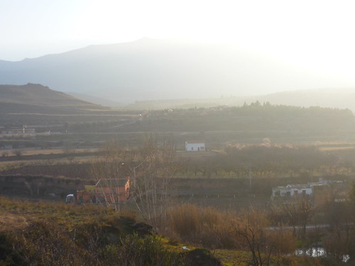 The beautiful view of the mountains in Spain