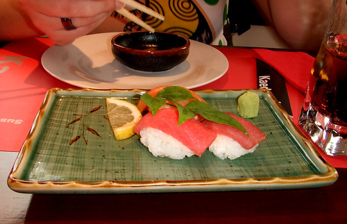 Sushi asalmonado