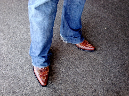 Dave Morin's new Cowboy Boots