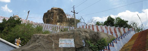 Top tier - Sri Venkateswarar and other shrines (by Raju's Temple Visits)