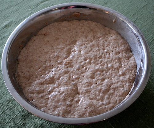 Almost No-Work Whole Grain Bread