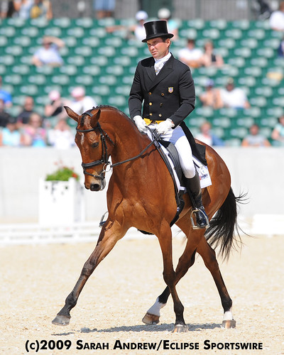 Phillip Dutton and Connaught: Dressage Test at Rolex 2009