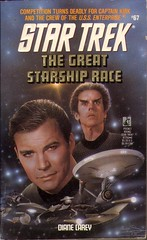 Carey, Diane - The Great Starship Race (1993 PB)