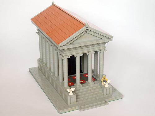 Roman Temple by Neverroads