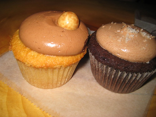 A Cupcake Bromance: the malted and the salted at Baked