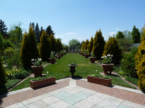 Romantic Garden at Denver Botanic Garden