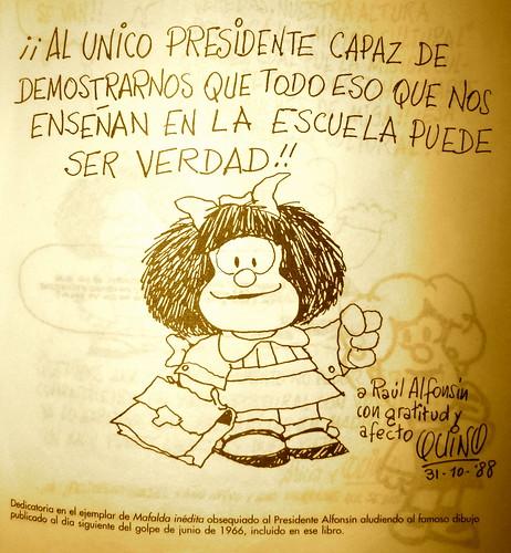 Al único presidente capaz de demostrarnos que todo eso que nos enseñan en la escuela puede ser verdad!!
