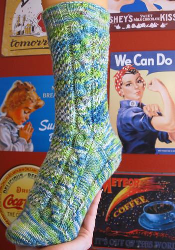 Yarn Loves Elizabeth Bennet yarn in Awakening Earth
