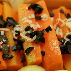 Karotten/Oliven/Käse