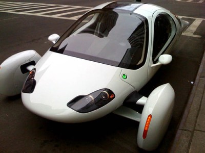 Apteras Super-MPG Electric Typ-1 e Car - Photo : HoOn