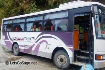 Cable Tours Bus to Sagada