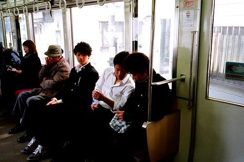 [江ノ電]好想知道你們是不是鎌倉高校的學生