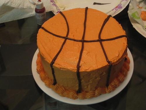 Basketball cheesecake?
