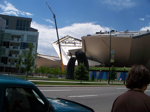 The Denver Art Museum - under construction