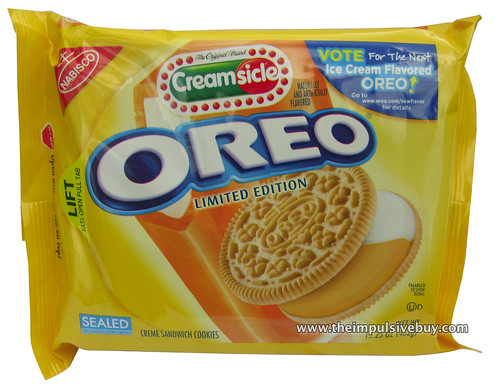 Limited Edition Creamsicle Oreo