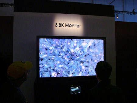 SONY 3.8K TV