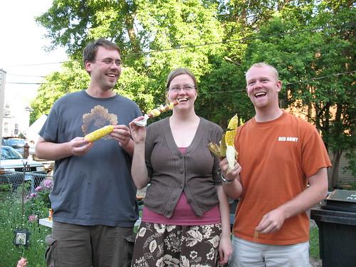 Zach, Bertine and Jens