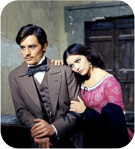 Delon & Cardinale in The Leopard (1963)