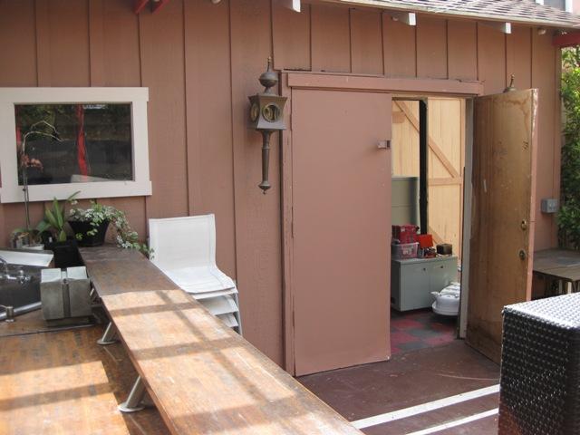 Side Door Before