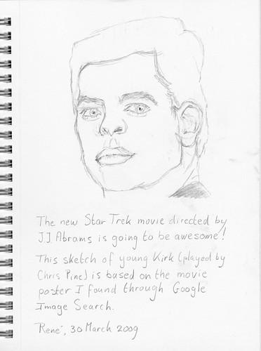 Star Trek 2009 - Young Kirk