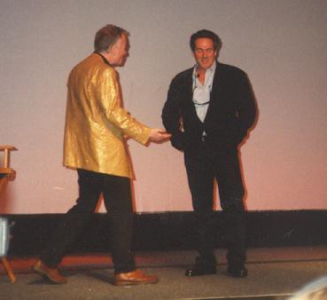 Anthony Daniels and Rick McCallum
