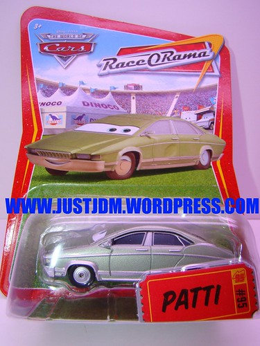 Disney CARS Patti
