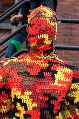 100% Acrylic Art Guards by Agata Olek / Dumbo ...