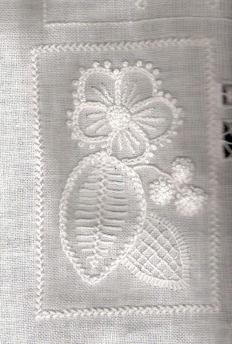 Textured embroidery