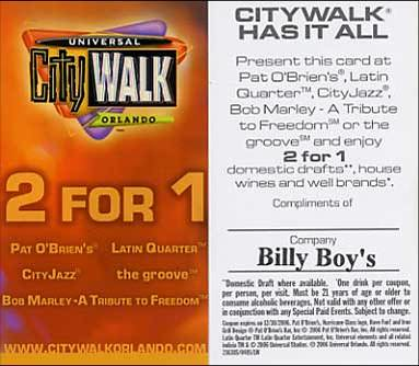 City Walk Coupon by you.